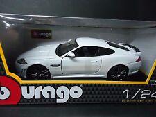 Bburago Jaguar XKR-S White 1/24