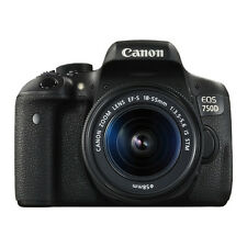Canon EOS 750D Digital SLR Camera with 18-55mm EF-S IS STM Lens