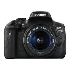 Canon EOS 750D Digital SLR Camera W/ 18-55mm EF-S IS STM Lens Black Friday Deal!