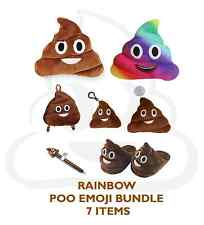 Rainbow EMOJI Poo / Poop Bundle Pack Deal Gift Everything for Poo - Save £4!