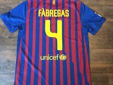 2011 2012 Barcelona el Hogar Camiseta De Fútbol adultos grandes Camiseta España