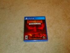 CARMAGEDDON MAX DAMAGE...PS4...***SEALED***BRAND NEW***!!!!!!!!