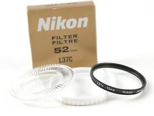 Nikon Genuine Filter L37C UV 52mm - JAPAN