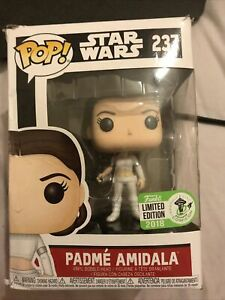 Star Wars PADME AMIDALA (237) POP Funko Vinyl 2018 con exclusive Vaulted