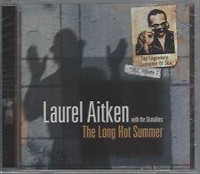 LAUREL AITKEN with THE SKATALITES - THE LONG HOT SUMMER (sealed cd) - GRO-CD 025