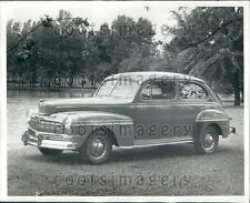 1945 Vintage 1946 Ford Mercury Auto Press Photo