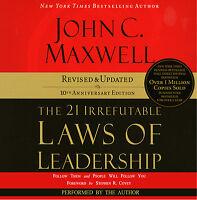 The 21 Irrefutable Laws of Leadership: John C.Maxwell Audiobook