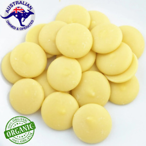 Organic Pure Cocoa Butter (Block & Pellets) Coco - Free Beeswax Sample for 1KG
