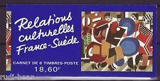 Frankreich Nr. 3012-17 **  Markenheft  35   Kultur Schweden - Frankreich