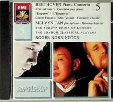 MELVYN TAN- Beethoven Piano Concerto No.5 Emperor/Choral Fantasia NORRINGTON CD