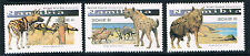 Namibia 2016 Large Canine of Namibia 3v set MNH