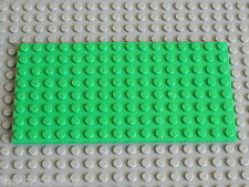 Plaque LEGO BtGreen plate 8x16 ref 92438 / set 3315 9389 31035 31025 7189 41095