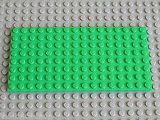 Plaque LEGO BtGreen plate 8x16 ref 92438 / set 3315 9389 31035 31025 7189 41095