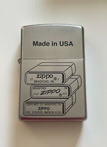 Collectable ZIPPO Bottom Stamp Lighter New!