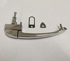 MG MGB/ MGB GT Chrome External Door Handle & Gaskets - AHH8885