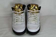 Air Jordan 5 Gold Medal Size 6.5Y 440888-133