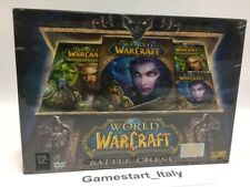 WORLD OF WARCRAFT BATTLE CHEST + BURNING CRUSADE - PC COMPUTER - NUOVO NEW WOW
