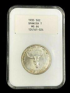 1935 Spanish Trail - NGC SCARCE Generation 2.0 Holder White Label Old Fatty
