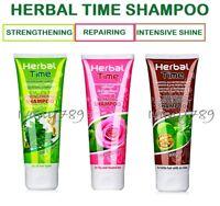 HERBAL TIME SHAMPOO,with Bugarian rose,Natural Herbs,Repairing,Intensive,Select: