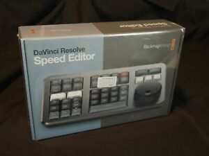 DaVinci Resolve Speed Editor New Unopened