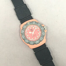 TAG HEUER formura1 lady size 28mm Pink dial Display date Mineral glass