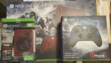 Xbox One S Limited Edition Console Gears of War 4 Bundle. Please Read.