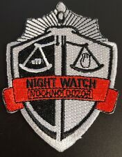 Night Watch Russian Movie logo patch NEW
