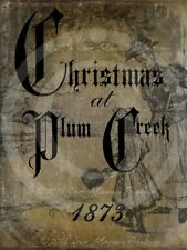 Primitive Vintage Christmas at Plum Creek 19th Century 1873 Laser Print 8x10