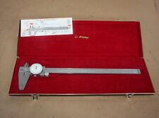 "MITUTOYO Dial Vernier Calipers Code No.505-635 12"" in case"