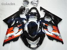Fairing Orange Black Injection Mold Fit for Suzuki 04-05 GSXR 600 750 Bodywork