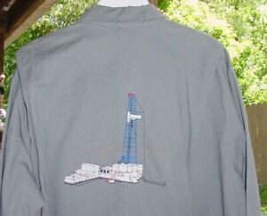 Walls Master Made Coveralls 48 Never Worn ENRON OIL RIG DRILLING EMBROIDERED