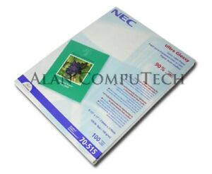 NEC 8.5x11 100Sheets Color Laser Paper 70-515 New Fac Sld Pack.