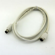 5ft/1.5m PS2 Mouse keyboard Male to Female Jack Extension Cable Cord Wire White