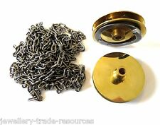 NEW REPLACEMENT LONGCASE CLOCK GRANDFATHER CHAIN & SPROCKET CONVERSION SET