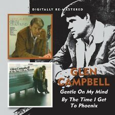 Glen Campbell Gentle on My Mind/by The Time I Get to Phoenix 2on1 CD