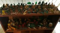 HUGE JOBLOT of 120+ including VEHICLES PLASTIC TOY MODEL SOLDIER FIGURES