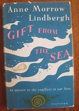 Anne Morrow Lindbergh Gift From the Sea 1955 First Edition Second Printing HCDJ