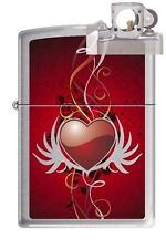 Zippo 6833 heart and wings Lighter with PIPE INSERT PL