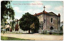 General View of San Gabriel Mission California Vintage Postcard 1909