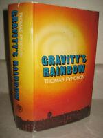 GRAVITY'S RAINBOW Thomas Pynchon 1st Edition uk 2nd Printing NATIONAL BOOK AWARD