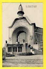 Carte Postale Ancienne 14 - SAINT AUBIN sur MER Le CASINO MUNICIPAL
