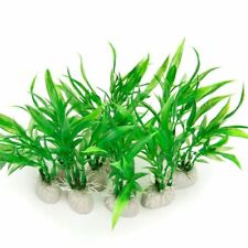 Artificial Aquarium Plants Fish Tank Decorations Home Decor Plastic Green Plant