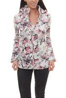 GUIDO MARIA KRETSCHMER Daunen-Jacke Damen Outdoor-Jacke mit Blumen-Print Bunt