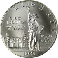 1986 P $1 Statue of Liberty Commemorative Silver Dollar Choice Uncirculated