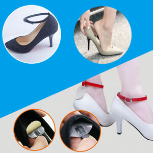 Women PU Leather Detachable Shoe Belt Straps Band for Holding Loose High Heels