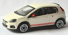 Fiat Abarth Grande Punto 2014 White 1:43 Bburago