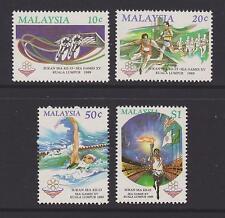 (MNH9X125) MALAYSIA 1989 XV SEA Games complete set MNH