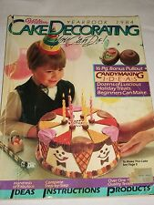 Wilton Cake Decorating Yearbook 1984 You Can Do It Book Ideas Candy Instructions