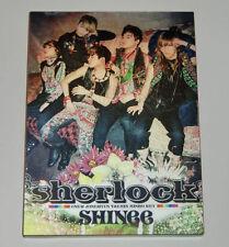 SHINee Sherlock Japanese ver. Single CD+DVD+BOOKLET
