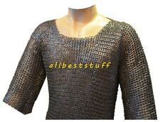 Chainmail Shirt 8mm Flat Riveted Flat Washer Chain Mail Hauberk Small Size